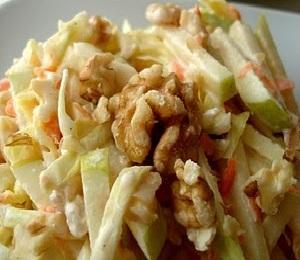 салат из капусты - рецепт приготовления