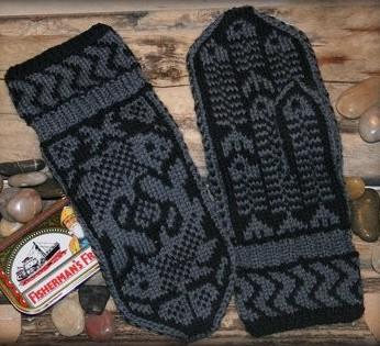 Красивые схемы для рукавиц