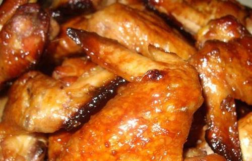 изумительные крылышки в соево-медовом соусе