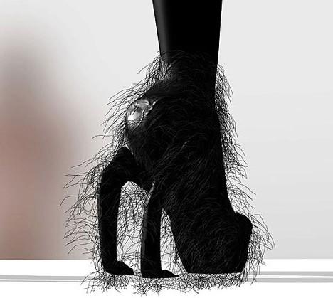 Мужская Обувь На Высоком Каблуке