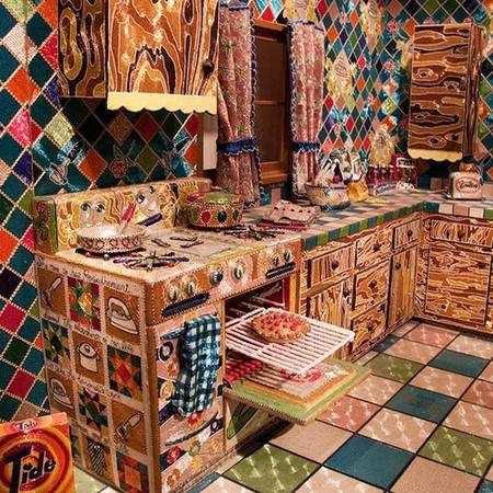 Лиза Лу - кухня из биссера