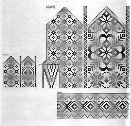 Вязание крючком схема рисунок