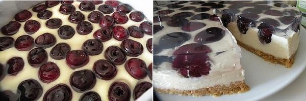 вишневый,торт