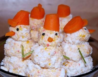 Красивое оформление салатов и закусок с рецептами на день рождения 4