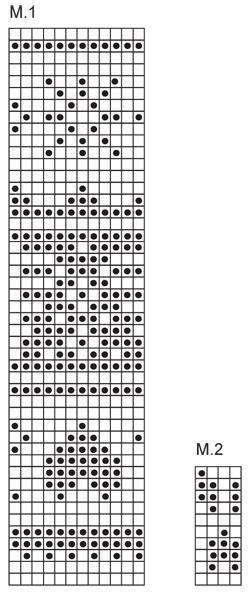 Вязание спицами жаккардовые узоры для носков схемы 51