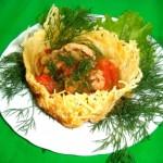 Новогодние блюда из морепродуктов