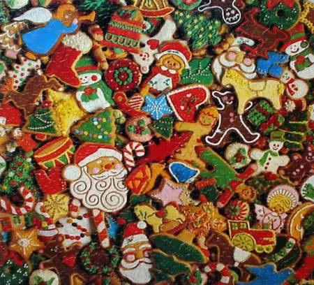 Цветное, ароматное новогоднее печенье поднимет праздничное настроение