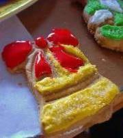 готовим фруктовую глазурь для печенья