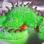 Новогодний торт «Дракон»