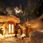 Сказочный мини-отель в горах Швейцарии