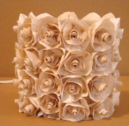 Украшения из упаковочной бумаги своими руками