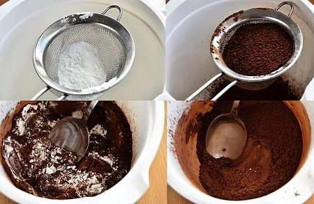 пирожное домашнее