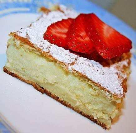 пирожное нежное