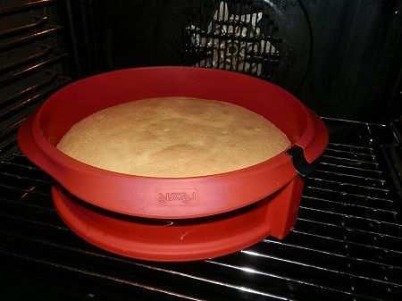 бисквитный торт - простой рецепт