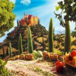 Продуктовые пейзажи (food landscapes). Карл Уорнер(Carl Warner)