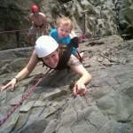 2-летняя альпинистка из Англии
