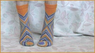 чудные получились носочки