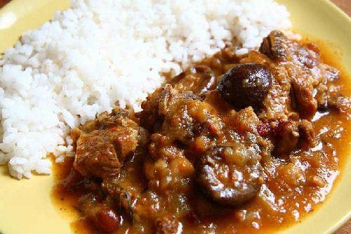 Рецепт блюда: Баранина тушеная с грибным соусом