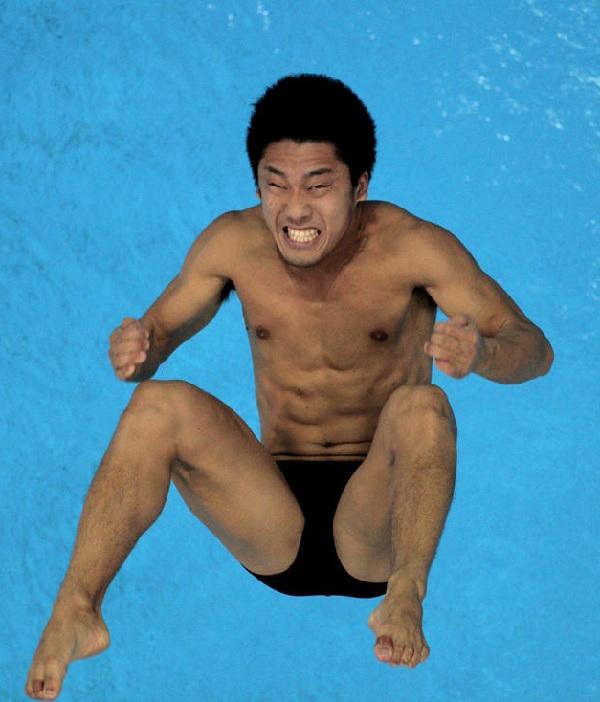 олимпийцытоже бывают смешными