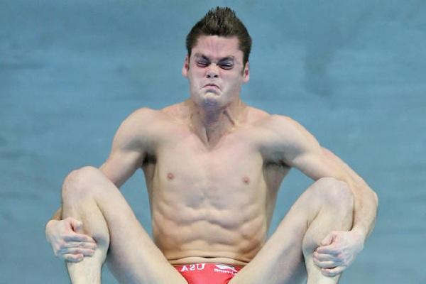 олимпийцы - это герои, снимаем шляпу..., но все равно смешно