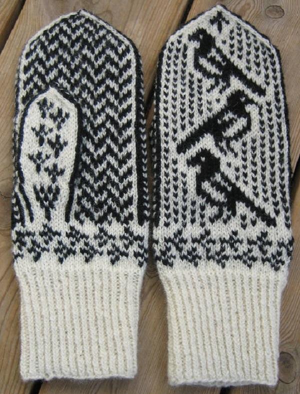 орнамент для рукавиц