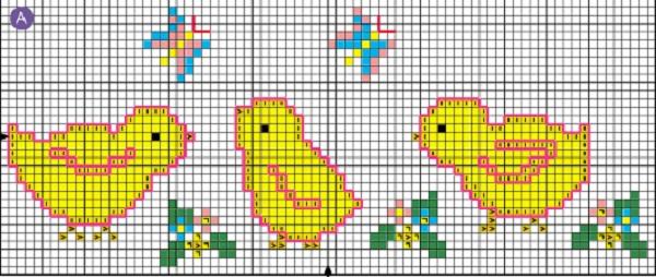 вязание, подборка схем для вязания детской одежды с жаккардовым орнаментом