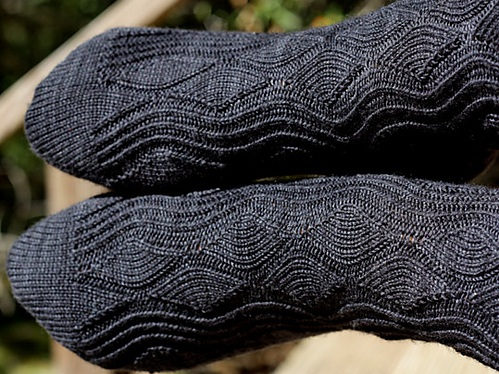 вяжем носки своими руками