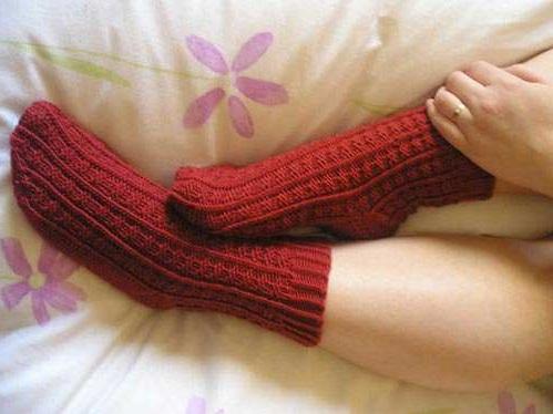 уроки по вязанию носков