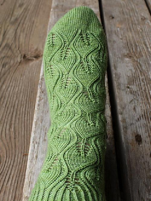 идеи для вязания носков