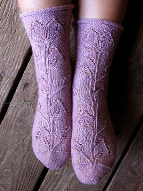 невероятно красивые носки
