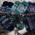 Носки с норвежскими узорами