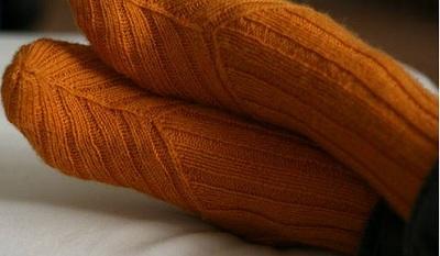 вяжем необычные носки