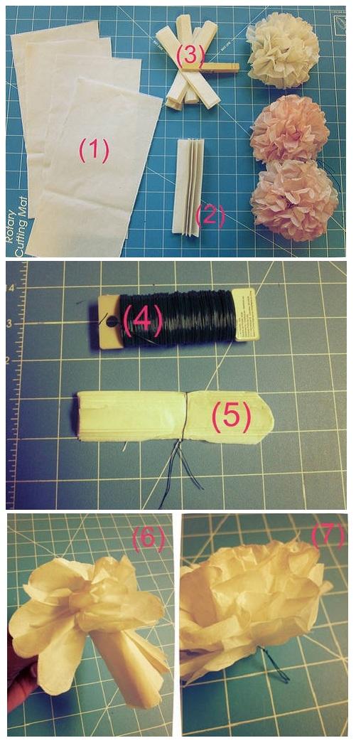 как сделать шар из бумаги