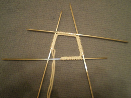 набор петель для вязания варежек спицами
