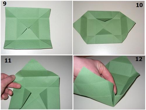 глядя на фото, вы легко сделаете коробку для подарка сами