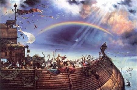 Ноев ковчег. Как появилась притча о великом потопе.