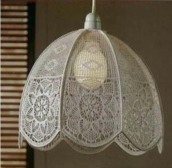 декор светильника своими руками