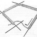 Невидимое соединение вязания в круг