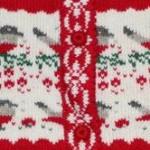 Орнамент «Снегирь». Схемы для вязания.