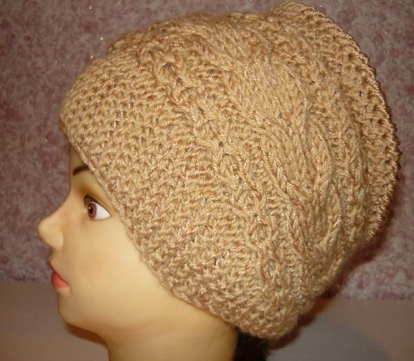 шапочка,ободок,женская,вязаная,спицами