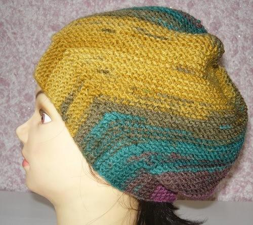 женская,шапочка,шарф,спицами,дропс,описание,фото