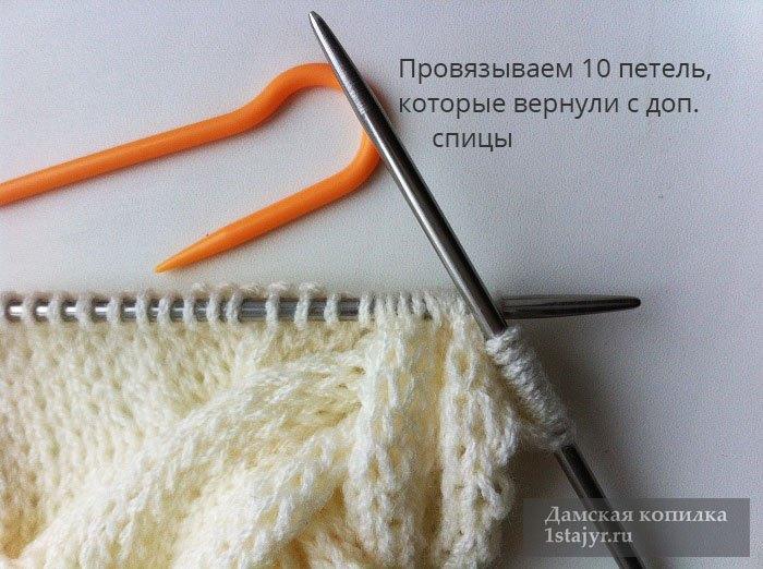 снуд,спицами,для женщин,описание,вязание,подробно,фото,пошагово