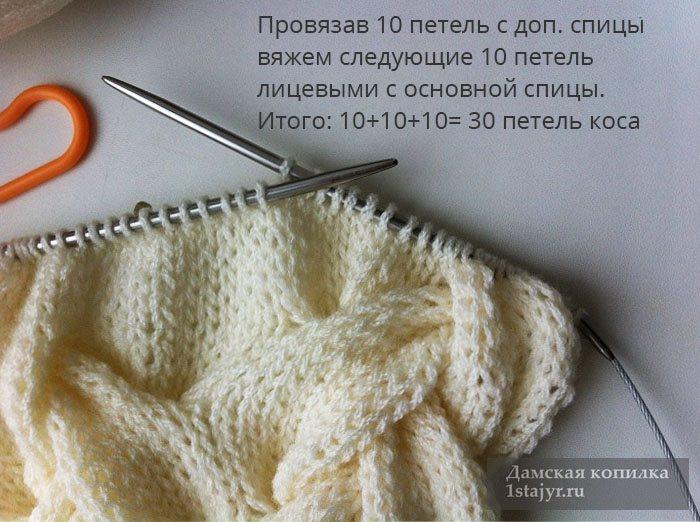 снуд,для женщин,спицами,вяжем,пошагово,подробно,описание